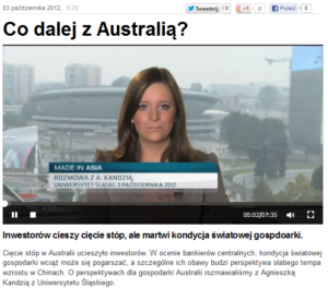 O Australii dla TVN24